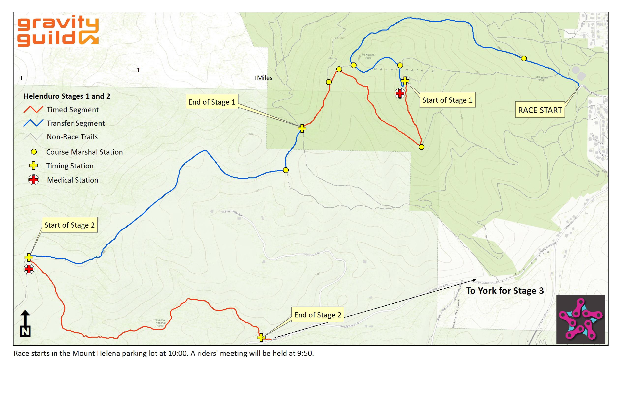 helenduro 2014 maps